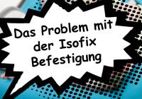 Isofix Befestigung